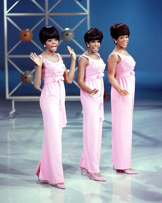 The Supremes en concierto, Diana Ross, Mary Wilson y Florence Ballard