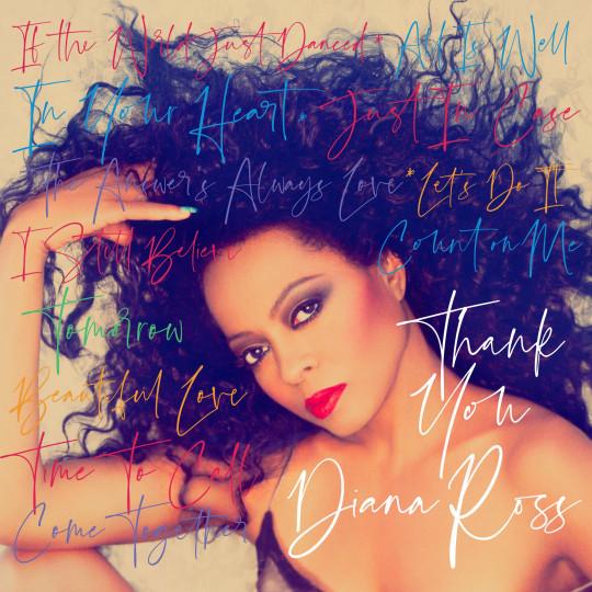 Portada del álbum de Diana Ross para Thank You