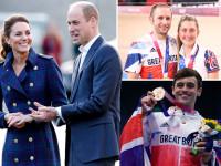 William y Kate elogian al equipo GB por su 'fuerza y pasión'