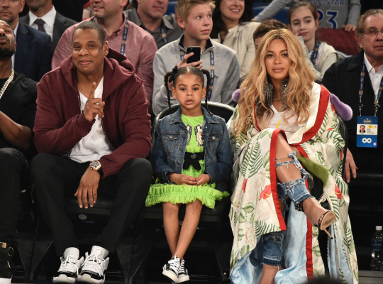 Beyonce, Jay Z y Blue Ivy