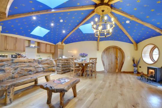 Vacaciones como Frodo en estas cabañas hobbit del Reino Unido disponibles para alquilar ahora