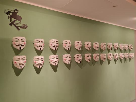 Exposición V de Vendetta