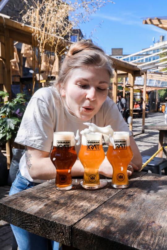 Degustación de cerveza Kraft