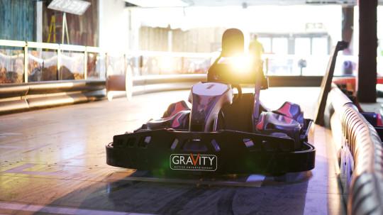 Go Kart de gravedad