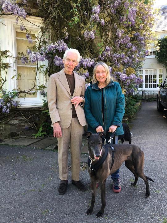 Charlie Watts y esposa Shirley