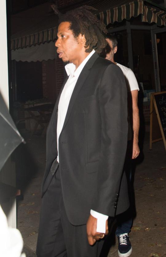 Jay Z cena en Lucali