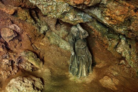 La cueva de Mother Shipton, North Yorkshire