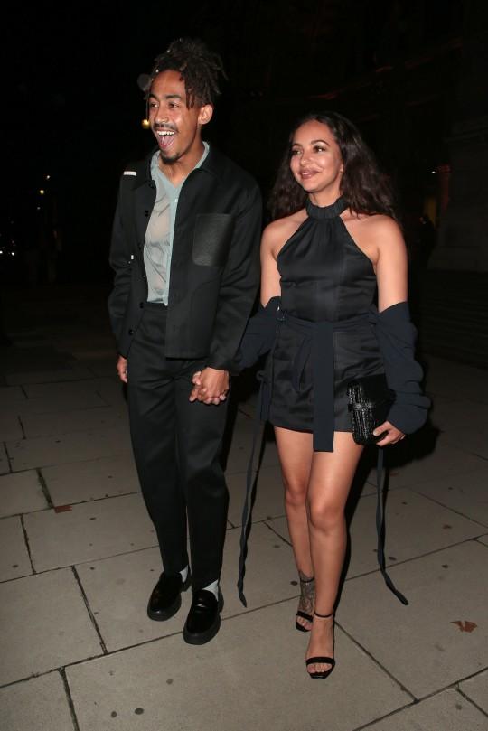 Jade Thirlwall y Jordan Stephens en la Semana de la Moda de Londres